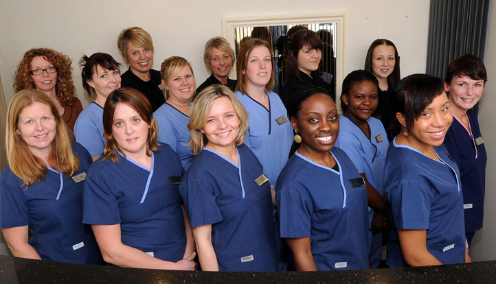 Huntingdon House & Silverstreet Dental Practice Team